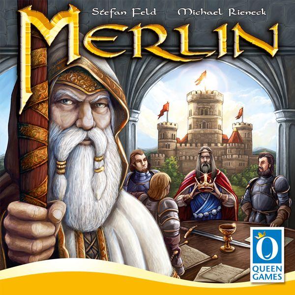 Merlin, Queen Games, 2017 — front cover
