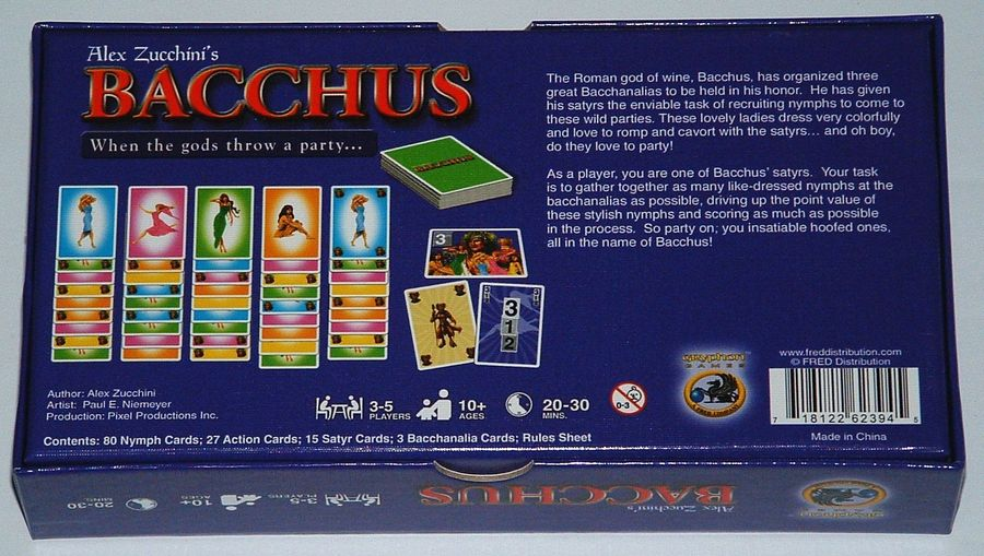 Bacchus Image Boardgamegeek