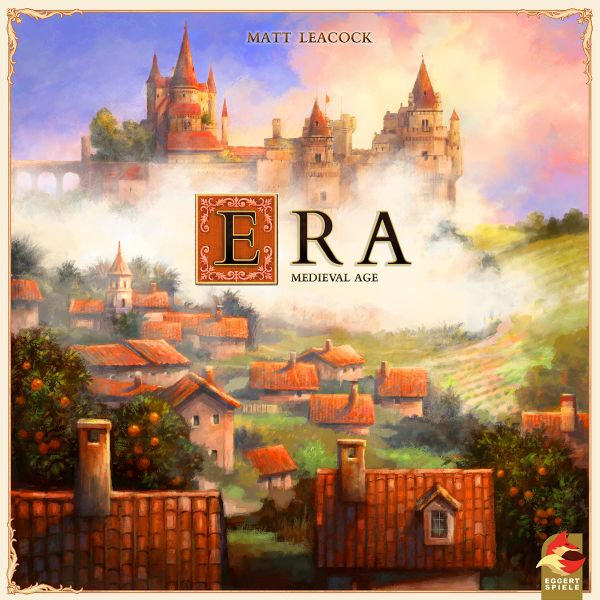 Era: Medieval Age, eggertspiele, 2019 — front cover (image provided by the publisher)