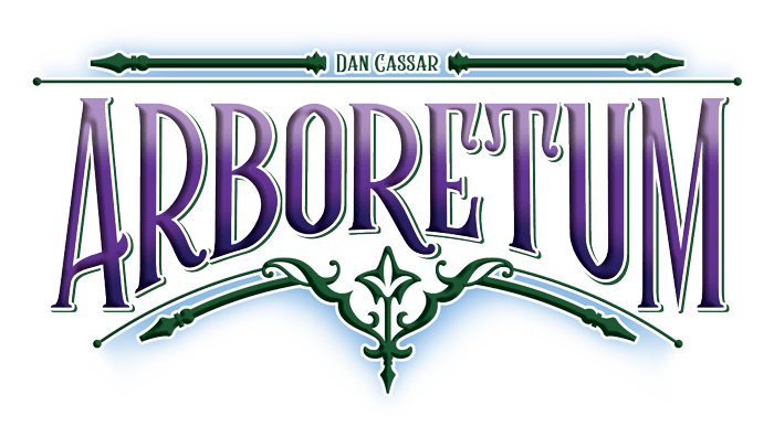 Arboretum, Renegade Game Studios, 2018 — logo (image provided by the publisher)