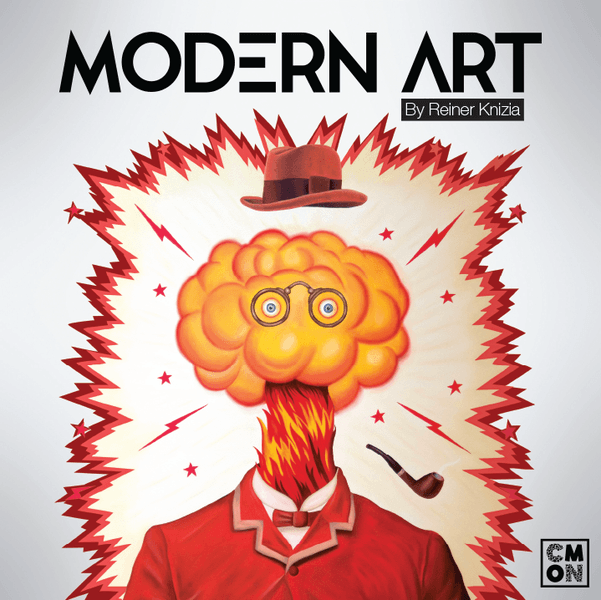 Modern Art, CMON Limited, 2017 — front cover (image provided by the publisher)