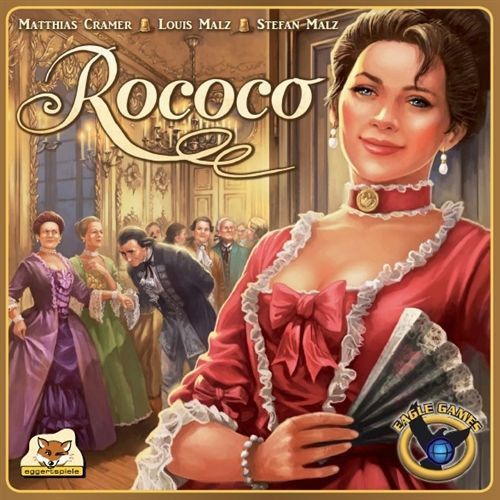 Cover of Eagle Games edition of Rococo.