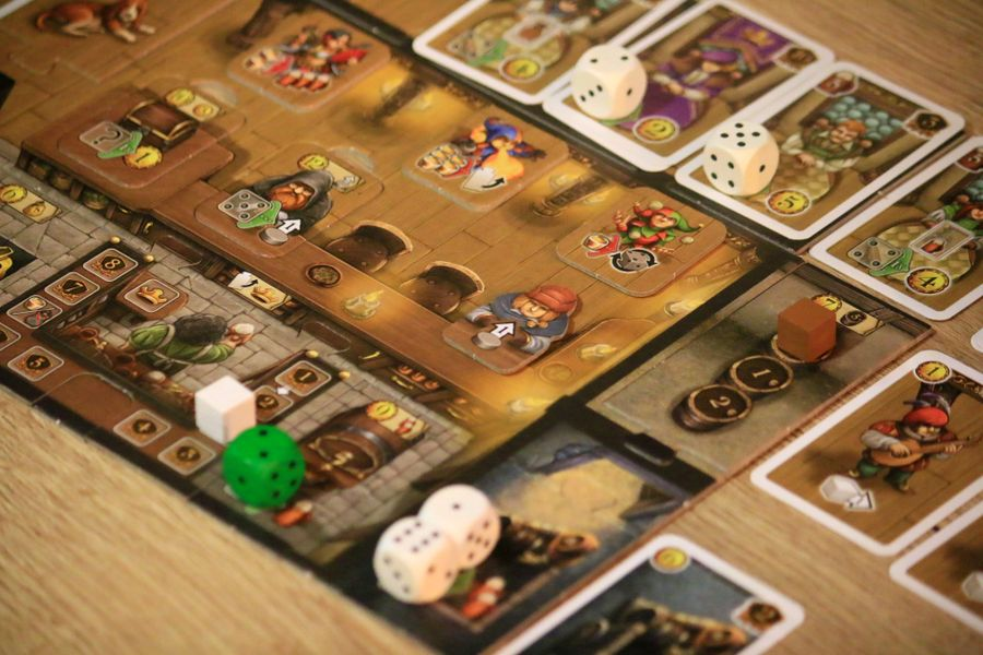 Playing Taverns of Tiefenthal @ the boardgameclub in Hilversum - The Netherlands