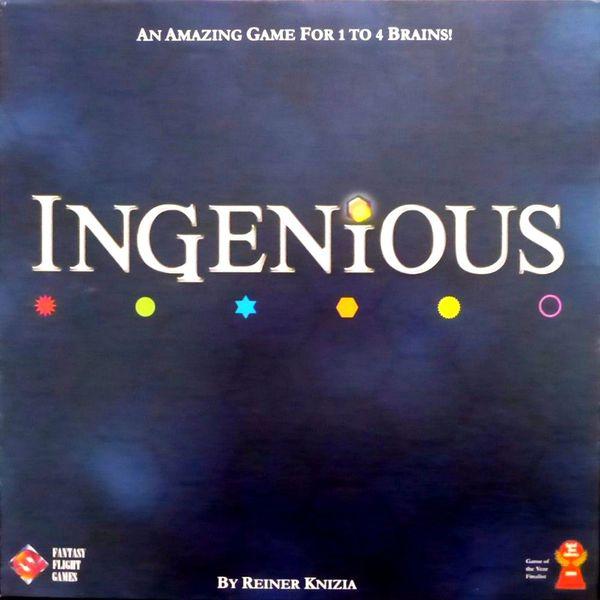 Ingenious ‐ Fantasy Flight Games English edition (2004)
