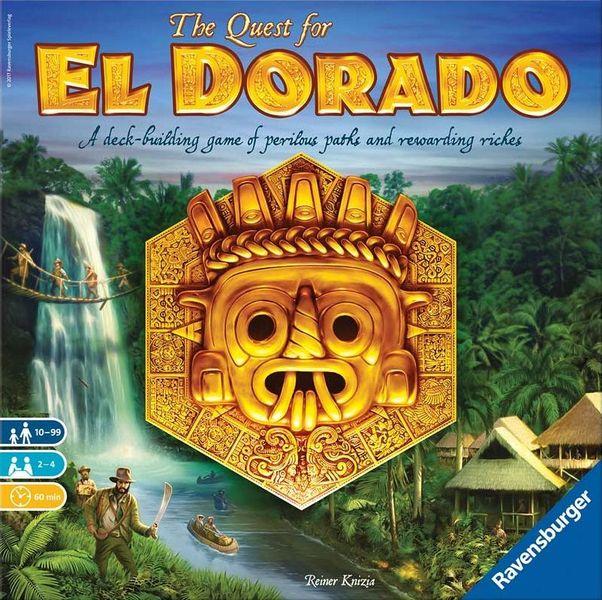 The Quest for El Dorado, Ravensburger, 2017 — front cover