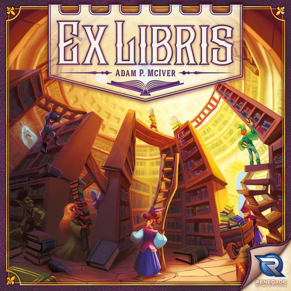 Ex Libris, Renegade Game Studios, 2017