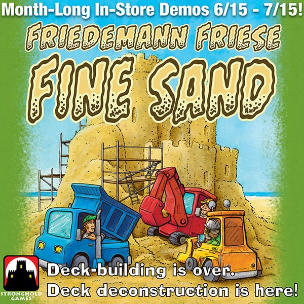 The Fine Sand In-Store Demo - List of Locations | Fine Sand