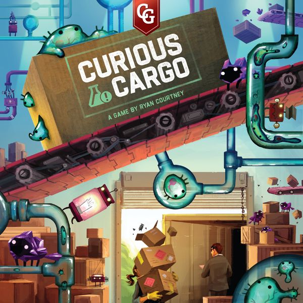 Curious Cargo, Capstone Games, 2020 — front cover (image provided by the publisher)