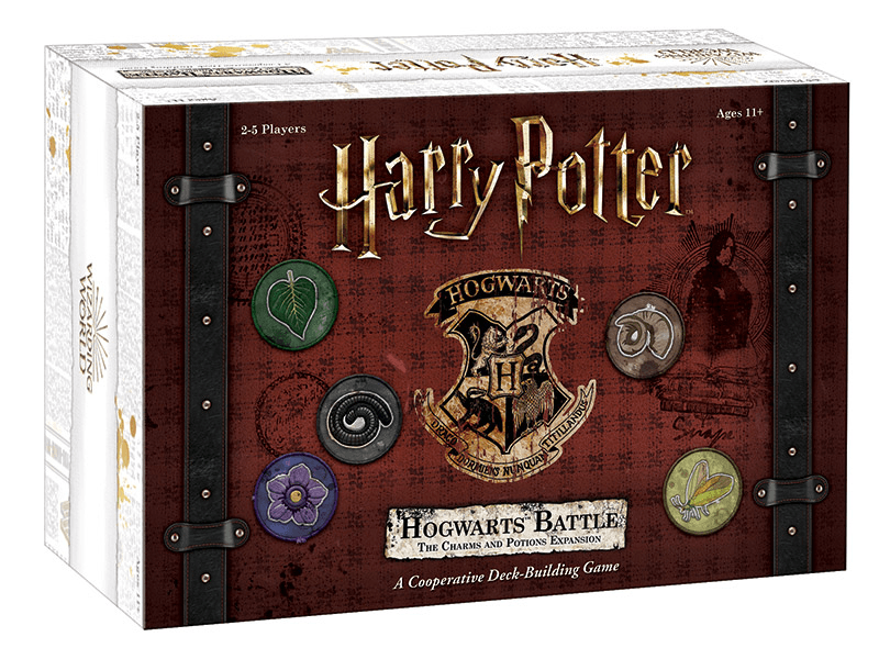 Hogwarts Battle: Charms & Potions Expansion (box cover)