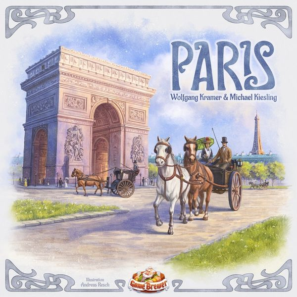 Paris, Game Brewer, 2020 — front cover