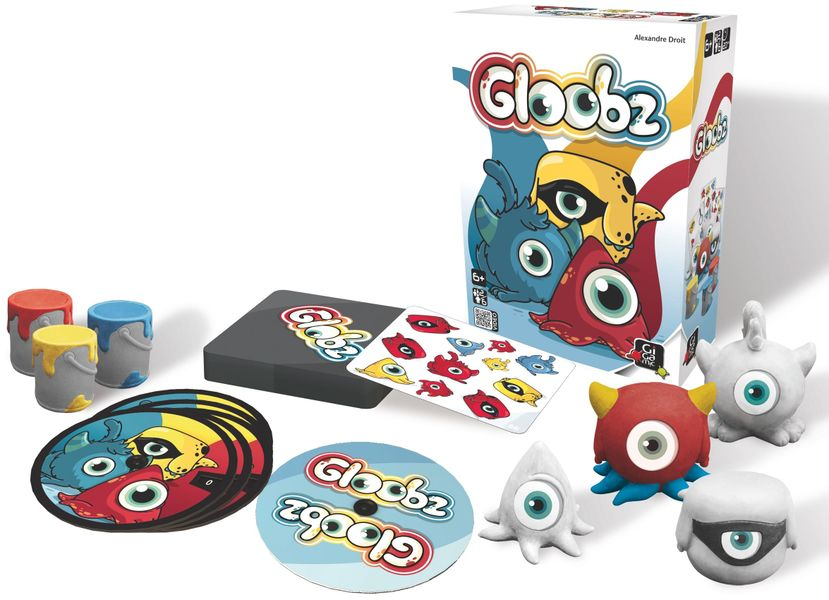 Gloobz, Gigamic, 2014 — box and components (image provided by the publisher)