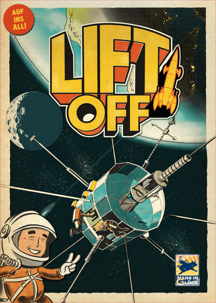 Lift Off, Hans im Glück, 2018 — front cover (image provided by the publisher)