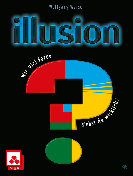 Illusion, Nürnberger-Spielkarten-Verlag, 2018 — front cover (image provided by the publisher)