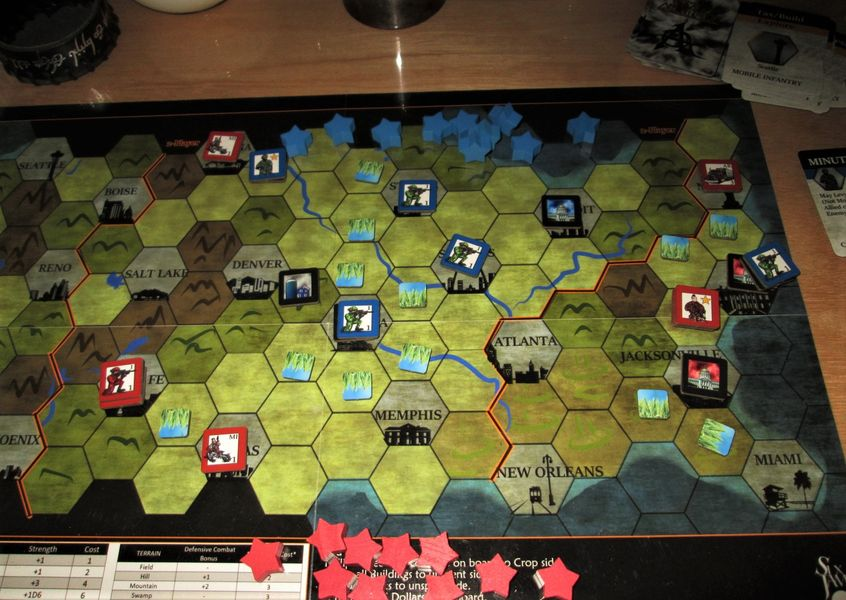 2-Player game in action