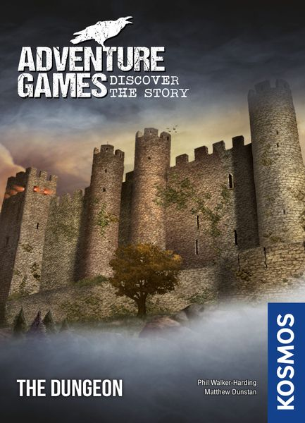 Adventure Games: The Dungeon, KOSMOS, 2019 — front cover (image provided by the publisher)