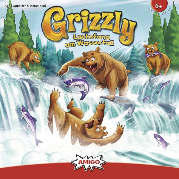 Grizzly, AMIGO, 2019 — front cover (image provided by the publisher)