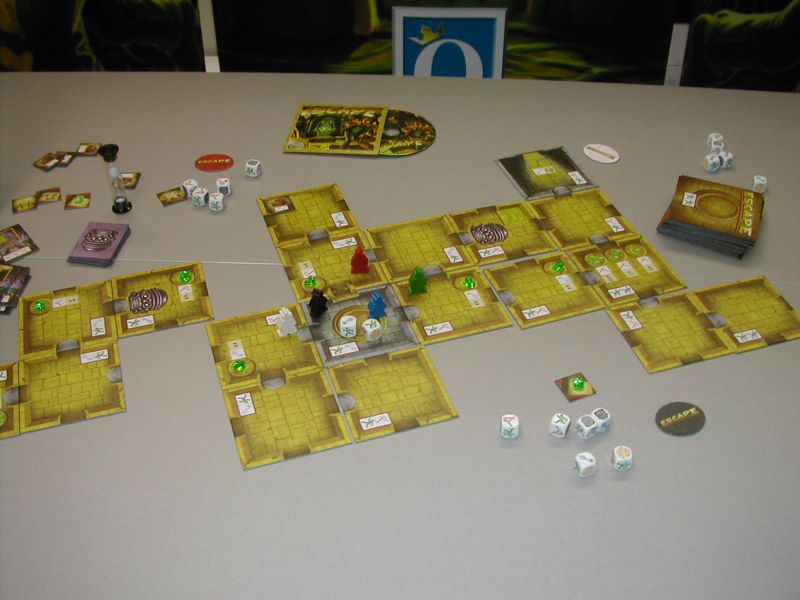 Essen 2012 - Escape on display.