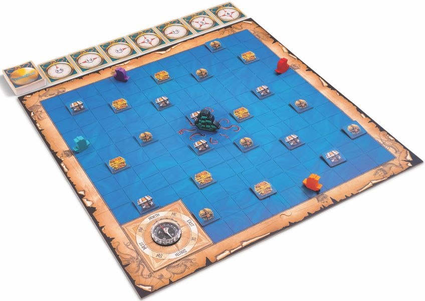 Phantom Seas, SimplyFun, 2020 — components (image provided by the publisher)