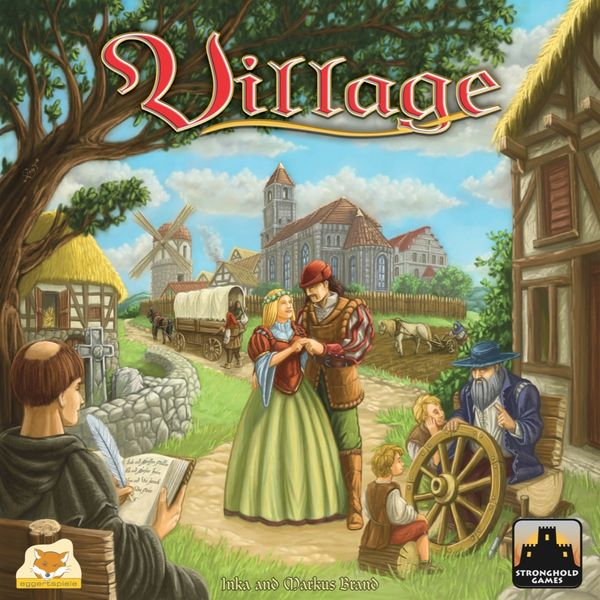 Village, Stronghold Games/eggertspiele, 2016 (image provided by the publisher)