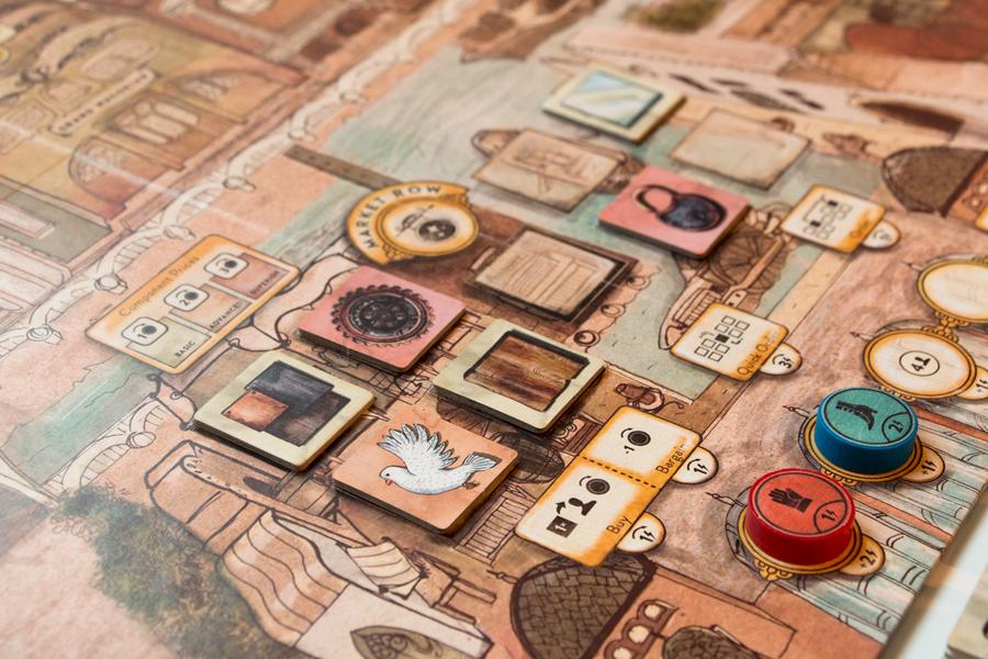 The Market Row location (final pre-Kickstarter prototype)