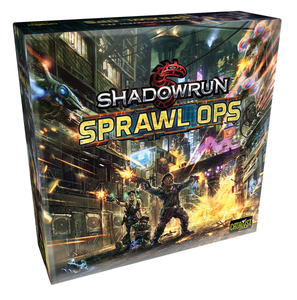Sprawl Ops: A Shadowrun Board Game - Catalyst Game Labs
