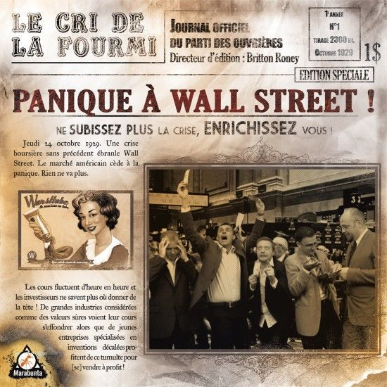 Panique à Wall Street!, Marabunta, 2012