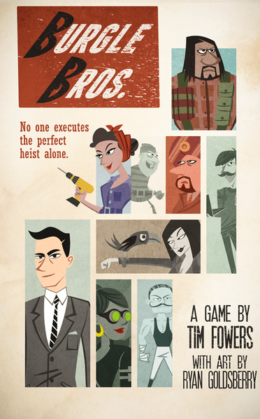 Box art for Burgle Bros.