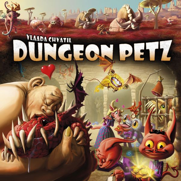 Dungeon Petz final cover (the game logo might slightly change yet, but the artwork is 100% done :))