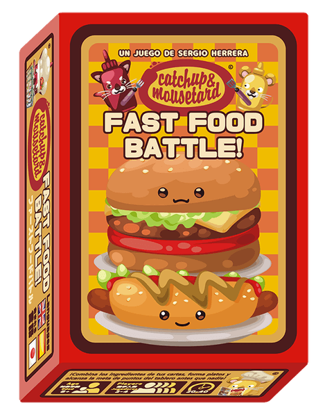 Catchup & Mousetard - Fast Food Battle!