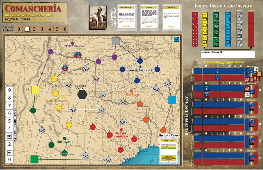 Navajo Wars Image Boardgamegeek