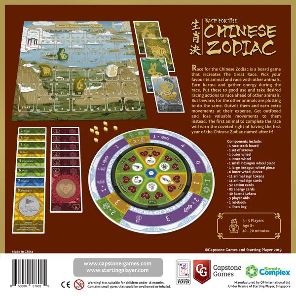 Race for the Chinese Zodiac (with Cat expansion) | Image