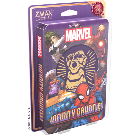 Infinity Gauntlet: A Love Letter Game - box front