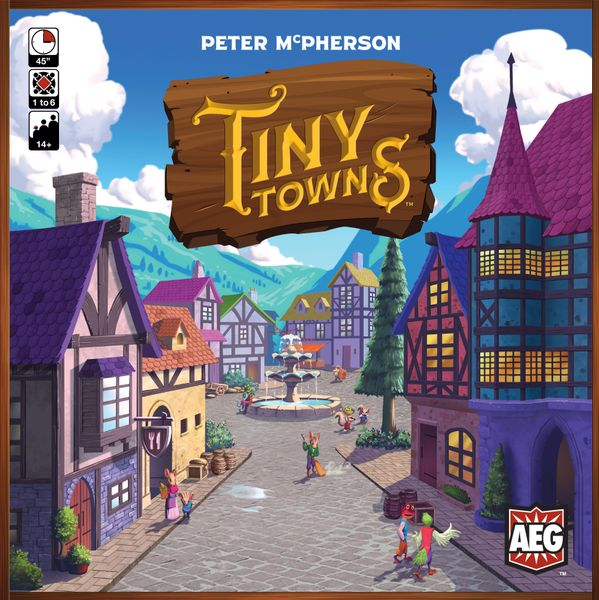 Tiny Towns Front Cover