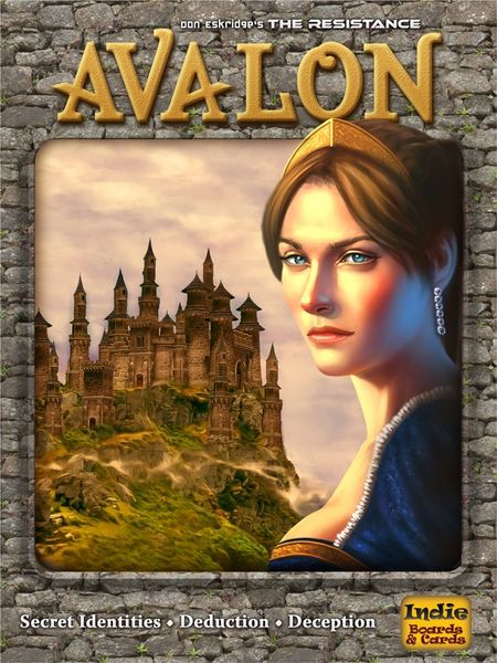 The Resistance: Avalon, Indie Boards and Cards, 2012 (image provided by the publisher)