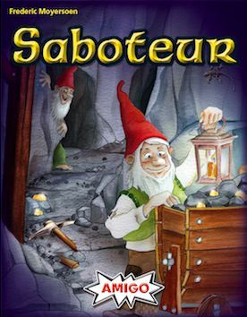 Saboteur, AMIGO, 2018 — front cover (image provided by the publisher)