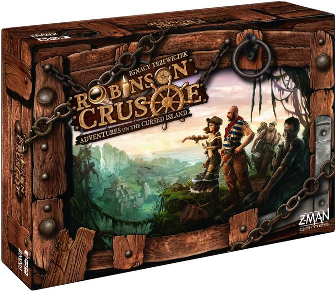 Robinson Crusoe: Adventure on the Cursed Island, Z-Man Games, 2013 (image provided by the publisher)