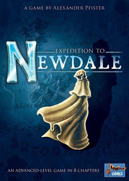 Expedition to Newdale, Lookout Games, 2019 — front cover (image provided by the publisher)