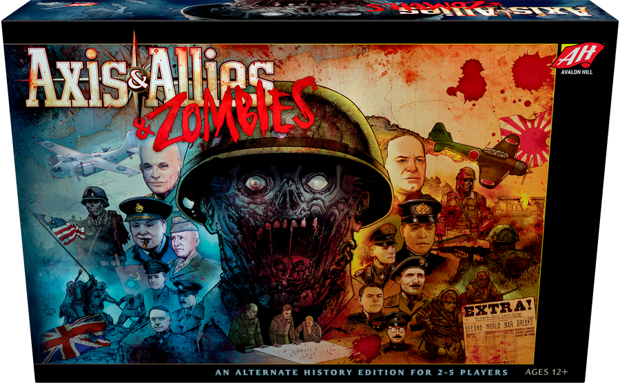 Axis and Allies and Zombies - Hasbro