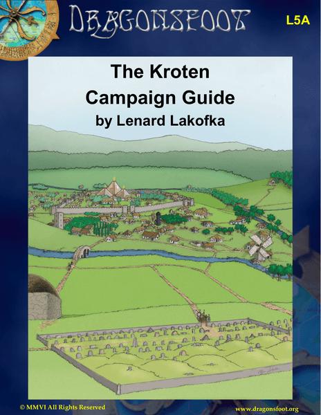 L5A: The Kroten Campaign Guide, front cover