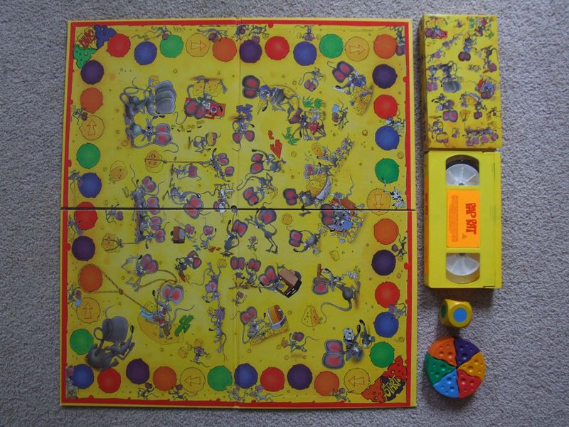 Rap Rat Video Board Game Image Boardgamegeek