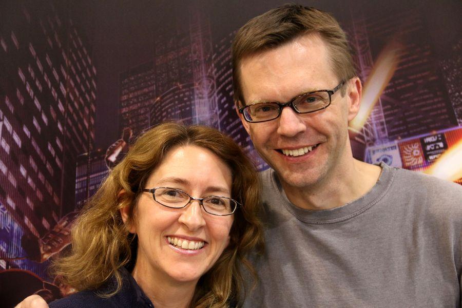 Donna & Matt Leacock