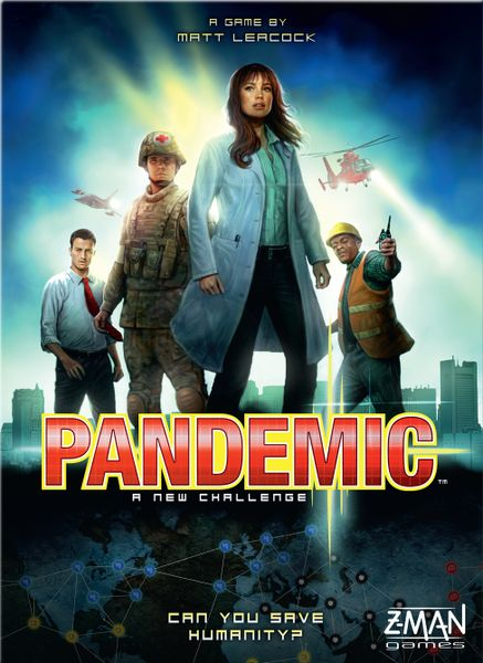 Pandemic, Z-Man Games, 2013 (image provided by the publisher)