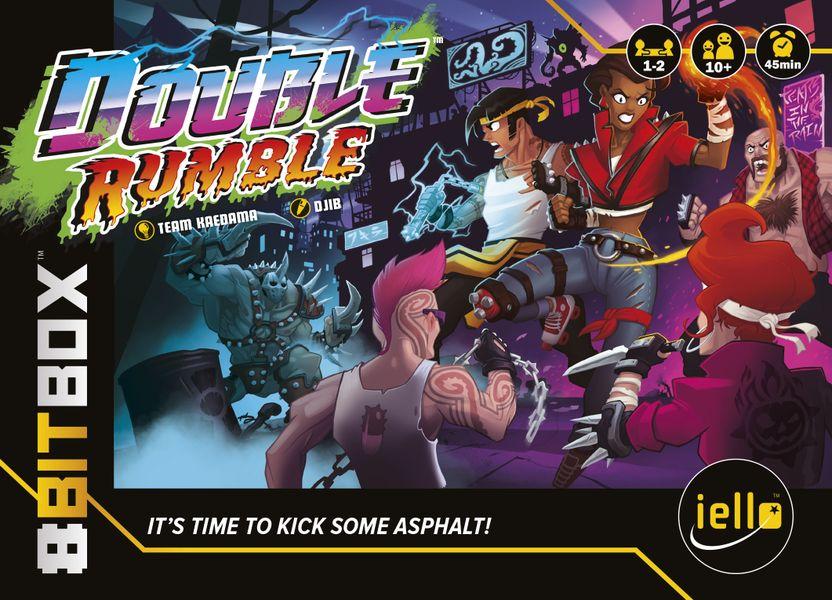 8Bit Box: Double Rumble, IELLO, 2019 — Front cover
