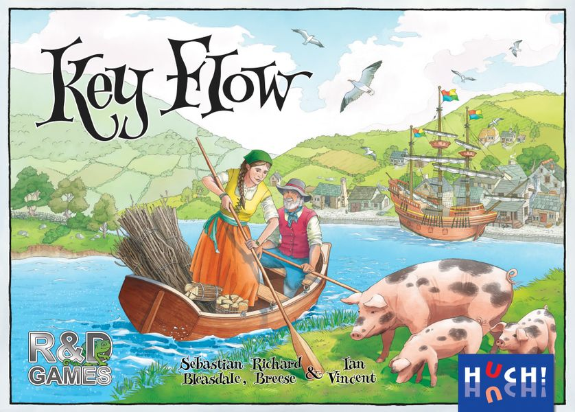 Key Flow Board Game