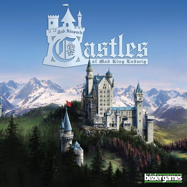 Castles of Mad King Ludwig, Bézier Games, 2014 (image provided by the publisher)