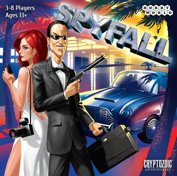 Spyfall, Cryptozoic Entertainment, 2015 (image provided by the publisher)