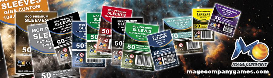 100 x 100-102 x 102 50 docsmagic.de premium Custom size Board Game sleeves