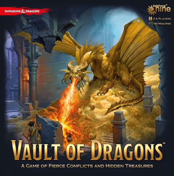 Vault of Dragons Dungeons and Dragons -  Gale Force 9