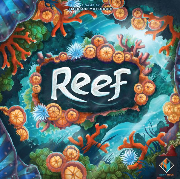 Reef, Next Move Games, 2018 — front cover (image provided by the publisher)