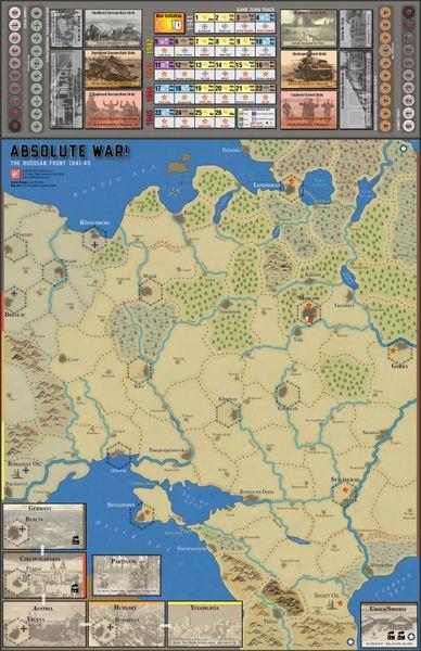Absolute War!: The on Russia 1941-45 | Image | BoardGameGeek on lidice map, the kite runner map, berlin map, kokoda map, yaroslavl map, casablanca map, khartoum map, midway map, aftermath map, inventory map, unbroken map, europe map, danzig map, romania map, big animal map, armenian genocide map, war map,